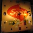 vintage Squirt wall clock(Light up)_47250yen